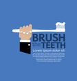 Teeth Brushing vector image