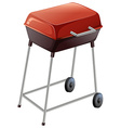A grilling device vector image vector image