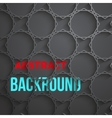 Dark Tech Abstract Background vector image