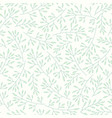 floral seamless pattern with branches and leaves vector image