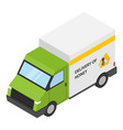 honey delivery icon isometric style vector image vector image