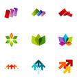 logo design elements set 22 vector image vector image