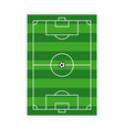 playing field template design vector image vector image