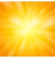 warm sun light eps 8 vector image vector image