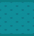 abstract wave pattern aquamarine ripple vector image vector image