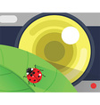 camera and tool flat design vector image vector image
