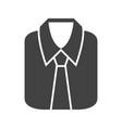 formal shirt vector image vector image