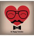 Hipster heart