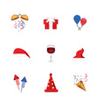 Set of funny emoticon isolated on white background vector image