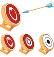 Target Set vector image