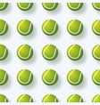 tennis ball seamless pettern realistic tennis vector image vector image
