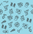 car wash pattern vector image