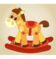 Application rocking horse vector image vector image