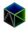 blocks cube vector image