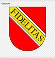 emblem city germany vector image