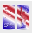 Independence Day banners vector image