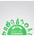 Paper nature background vector image