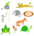 set animals eps10 vector image