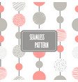 abstract seamless pattern with circles and dots in vector image vector image
