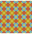 Cute flowers seamless pattern vector image