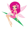 Fairy on a white background vector | Price: 1 Credit (USD $1)