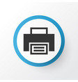 print icon symbol premium quality isolated vector image vector image