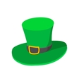 St Patricks Day hat cartoon icon