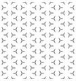 thin linear figures monochrome seamless pattern vector image vector image