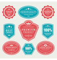 Vintage stickers and labels vector | Price: 3 Credits (USD $3)