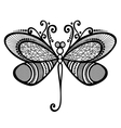 Beautiful Dragonfly Exotic Insect vector image vector image