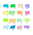 comics for sound speech effect bubbles isolated on vector image vector image