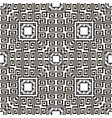 greek black and white seamless pattern vector image vector image