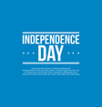 happy independence day banner art vector image vector image