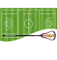 Lacrosse Copyspace vector image vector image