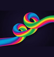 liquid wave background vector image vector image