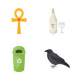 nature business ecology and other web icon in vector image vector image