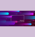 purple creative solutions background with vector image vector image