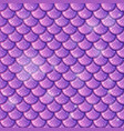 purple fish scale seamless pattern background vector image