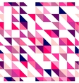 Tile triangle mosaic wrapping surface background vector image