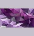 abstract irregular polygonal background - vector image vector image