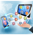 Applications for Mobile Platforms vector image