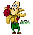 Banana Mascot vector image vector image