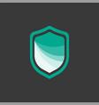 icon symbols protect shield logo design template vector image vector image