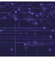 Modern Computer Technology Blue Background vector image