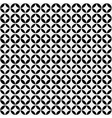 Abstract minimalistic black and white pattern vector image vector image