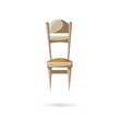 Chair isolated on a white backgrounds vector image vector image