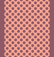 dots seamless pattern vector image