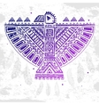 Native American eagle vector image