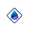 oil and gas logo vector image vector image