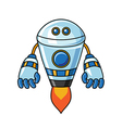 Robot isolated on a white background vector image